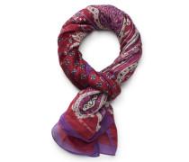 Schal bordeaux/violett