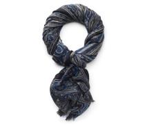 Schal blau/schwarz