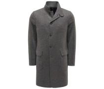 Cashmere Mantel 'Sweater Coat' grau