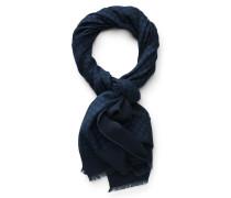 Schal navy/blau