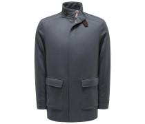 Kaschmirjacke 'Glendale Jacket' dunkelgrau