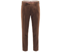 Wollhose 'Spice Route Preppy Fit' braun