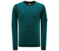 R-Neck Pullover petrol