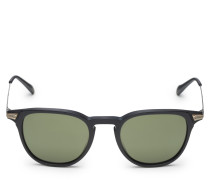 Sonnenbrille 'Ennis' schwarz/grün