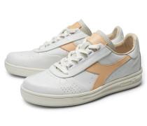 Sneaker 'B.Elite ITA Premium' weiß/hellbraun