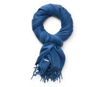 Cashmere Schal 'Grande Unita' blau