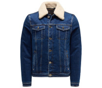 Jeans-Daunenjacke 'Taburno' dunkelblau