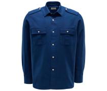 Overshirt 'Pacific' dunkelblau