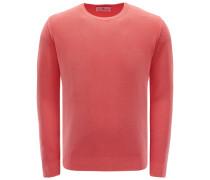 R-Neck Pullover koralle