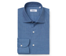 Business Hemd Kent-Kragen graublau