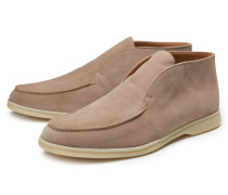 Loafer 'Open Walk' hellbraun