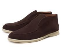 Loafer 'Open Walk' dunkelbraun
