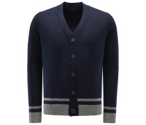 Baby-Cashmere Cardigan 'Arthur' navy
