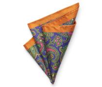 Einstecktuch orange/violett
