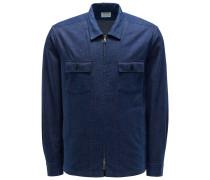Overshirt 'Aspen' dunkelblau