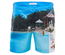 Badeshorts 'Bulldog Pool Down' blau