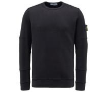 R-Neck Sweatshirt schwarz