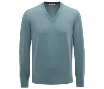 Cashmere V-Neck Pullover mint