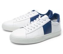 Sneaker weiß/dunkelblau