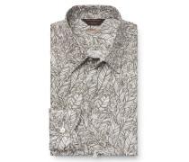 Casual Hemd schmaler Kragen offwhite