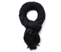Wollschal schwarz
