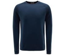 Sweatshirt mit Rundhals 'Clarc' navy