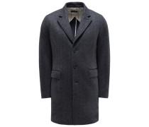 Jersey-Mantel 'Hever Coat' navy/dunkelgrau