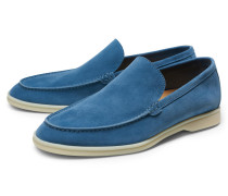 Mokassin 'Summer Walk' blau