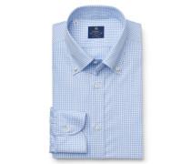 Casual Hemd 'Stefano' Button-Down-Kragen blau