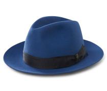 Fedora-Hut 'Anello' dunkelblau