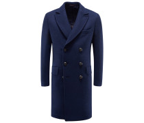 Wollmantel 'Drake' navy