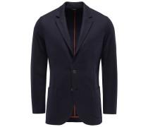 Cashmere Jersey-Sakko 'Sweater Jacket' navy