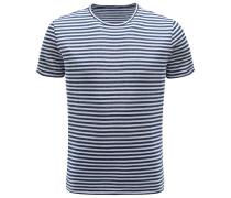 R-Neck T-Shirt navy/weiß