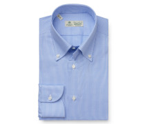 Business Hemd 'Gable' Button-Down-Kragen hellblau/weiß