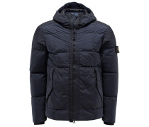 Daunenjacke 'Garment Dyed Crinkle Reps NY Down' navy