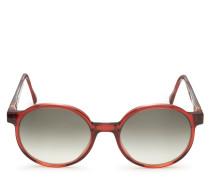 Sonnenbrille 'Suse' rot/dunkelgrau