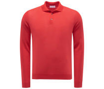 Strickpolo rot