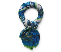 Schal hellgrau/blau