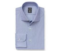 Business Hemd 'Mivara Tailor Fit' Haifisch-Kragen graublau
