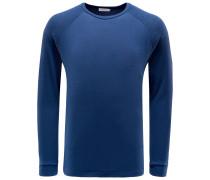 R-Neck Sweatshirt 'Levi' graublau