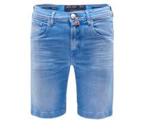 Jeans-Bermudas 'J6636 Comfort Slim Fit' azurblau