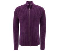Cashmere Strickjacke 'Cardano' violett