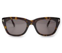 Sonnenbrille 'Snowdon' dunkelbraun/dunkelgrün