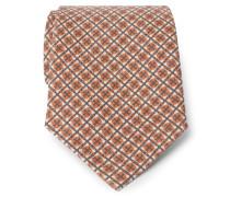 Krawatte orange/braun