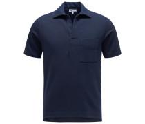 Jersey-Poloshirt 'Aadeo' navy