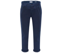 Chino 'Atelier Cropped' navy