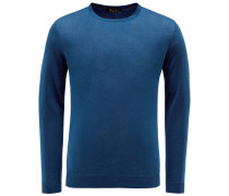 R-Neck Pullover 'Palm Bay' petrol