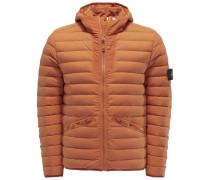 Daunenjacke 'Loom Woven Down Chambers Stretch Nylon-TC' orange