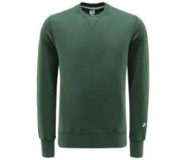 R-Neck Sweatshirt 'Aamerican' grün