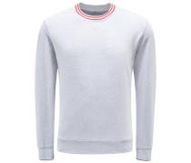 R-Neck Sweatshirt grau